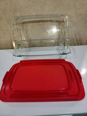 Pyrex Easy Grab 4 piece Bakeware set for Sale in San Antonio, TX