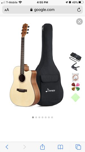 Donner Acoustic guitar Brand new with the bag for Sale in North Las Vegas, NV