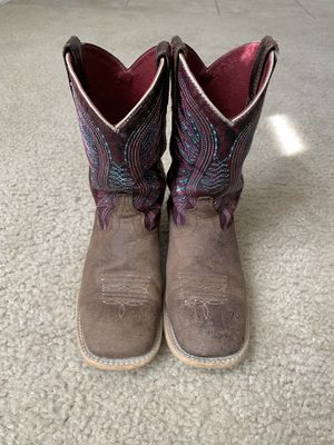 Ariat girls cowboy boots for Sale in Austin, TX