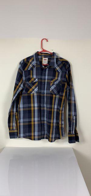 Levi's blue flannel long sleeve shirt sz L NWOT for Sale in Austin, TX