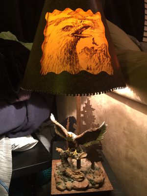 Bald Eagle Lamp for Sale in Cheyenne, WY