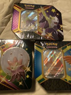 Shining Fates Tins Set of 3 NEW SEALED for Sale in Fairfax,  VA