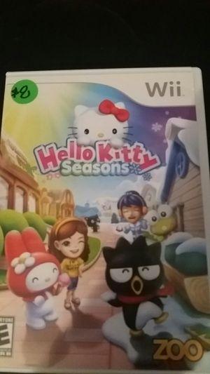 HELLO KITTY Seasons (Nintendo Wii + Wii U) for Sale in Lewisville, TX