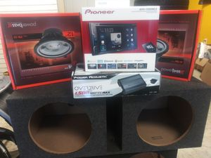 Pioneer Car Audio Package for Sale in Fayetteville, GA