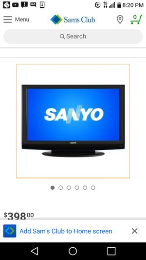 50 inch Sanyo with 🔥 stick..🔥 for Sale in Detroit, MI