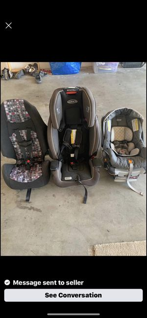 Car seats for sell for Sale in Bakersfield, CA
