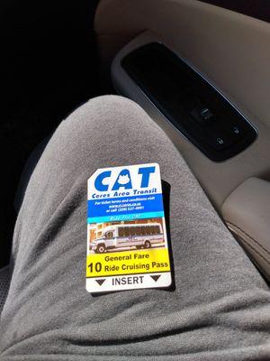 Ceres CAT, Modesto MAX, & Turlock transit bus passes for Sale in Modesto, CA