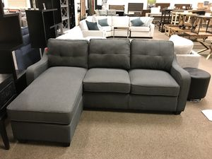 New grey reversible sectional sofa for Sale in Chicago, IL