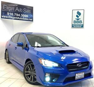 2016 Subaru WRX for Sale in Rancho Cordova, CA