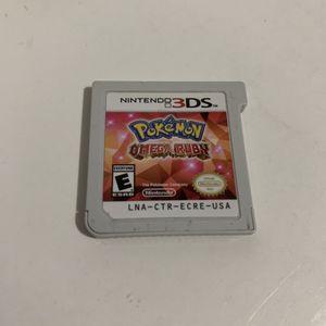 Pokémon Omega Ruby - Nintendo 3DS for Sale in Katy, TX