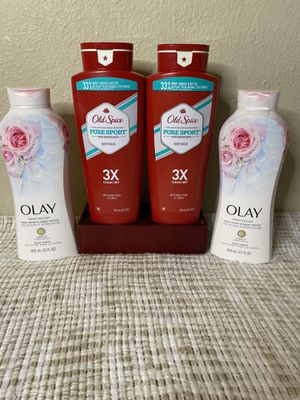 $20 Olay and Old Spice Body Wash Bundle for Sale in Beaverton, OR