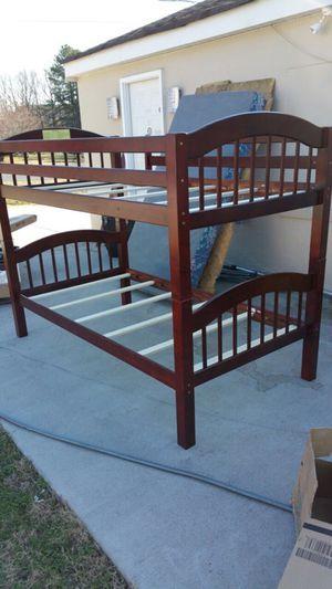 Wood bunk bed for Sale in Manassas, VA