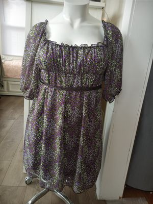 Candies purple and green dress for Sale in Newark, NJ