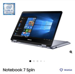 Notebook 7 Spin for Sale in Maple Shade Township, NJ