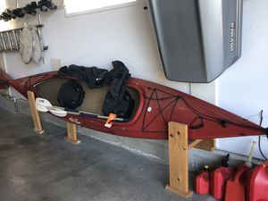 Tandem Kayaks with paddles and sprayskirts for Sale in Everett, WA