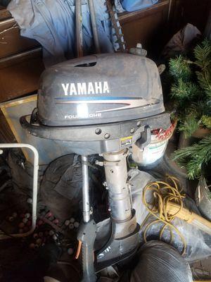 Yamaha 4hp 4stroke outboard motor for Sale in Phoenix, AZ