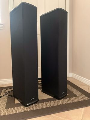 Definitive Technology BP7006 Bipolar SuperTower Audiophile Speakers W/built in Subwoofers for Sale in Escondido, CA