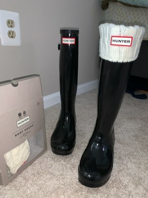 Tall Hunter Rain Boots for Sale in Germantown, MD