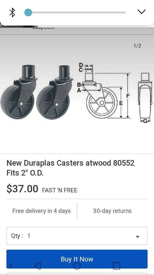 Atwood trailer jack wheel. New. $30.00
