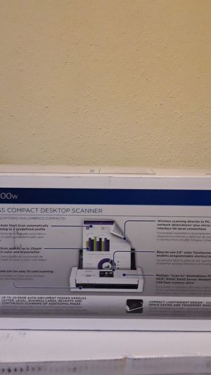 Brother Ads-1700w wireless compact scanner for Sale in Lakewood, CO