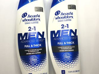 Head And Shoulders Men 2 in 1 Full & Thick for Sale in Mount Rainier,  MD