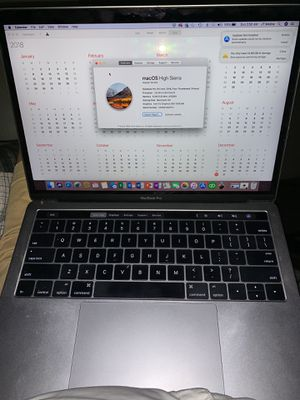 MacBook Pro touchbar/touchID for Sale in Tampa, FL