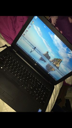 15.6 HP laptop touch screen for Sale in Columbus, OH