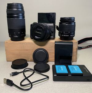 CANON M6 BUNDLE for Sale in Bell Gardens, CA