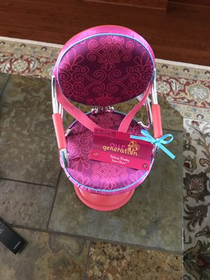 Our Generation/American Girl salon chair for Sale in Naples, FL