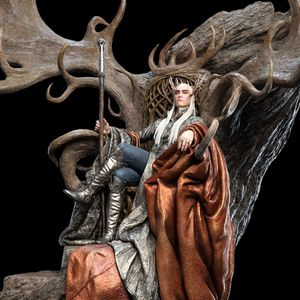 Weta thranduil on throne hobbit lord of the rings for Sale in Los Angeles, CA