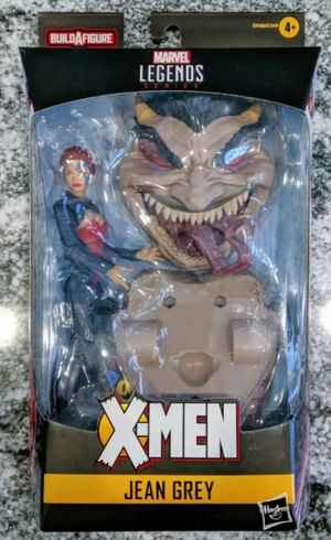 Marvel Legends Age of Apocalypse X-Men Jean Grey Collectible Action Figure Toy with Sugar Man Build a Figure Piece for Sale in Chicago, IL