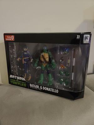 Batman vs TMNT GameStop Batgirl & Donatello for Sale in Stafford, VA