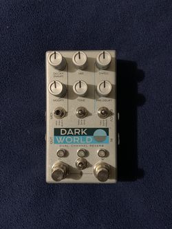 CHASE BLISS DARK WORLD REVERB PEDAL ***READ DESCRIPTION*** for Sale in Whittier,  CA