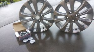Set of Alloy Rims for Chevy Spark Sz 15 inch for Sale in San Jose, CA