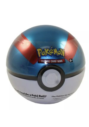 Pokemon Great Ball Tin - 3 Boosters + 1 Coin for Sale in Miami Gardens, FL