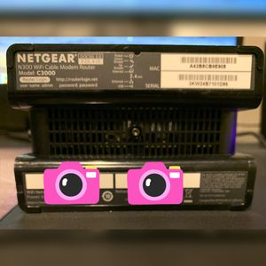 NETGEAR C3000 Router for Sale in Traverse City, MI