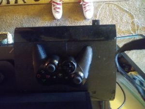 PS3 Super Slim Upgraded Console with Controller for Sale in Salt Lake City, UT