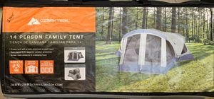 Ozark Trail 14-Person 18 ft. x 18 ft. Family Tent with 3 Doors $99 Firm for Sale in Norfolk, VA