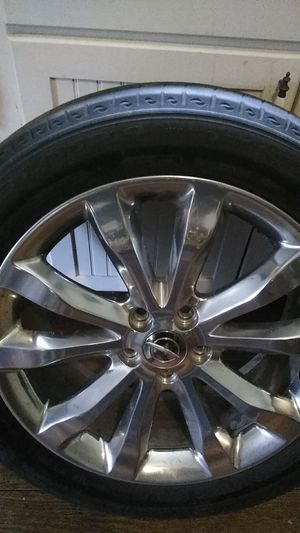 Rims and tires for sells 200 for Sale in Newland, NC