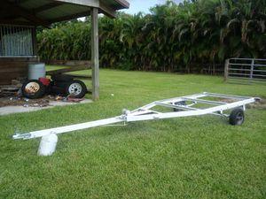 Home made boat / jet ski or yard utility trailer. Freshly overhauled. for Sale in Fort Lauderdale, FL
