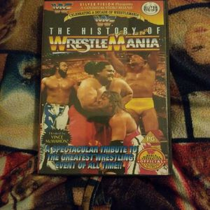 The History of Wrestlemania Dvd for Sale in Chicago, IL