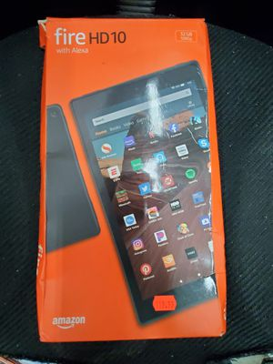 MINT Amazon Fire HD 10 (9th Generation), WiFi, 32GB, Black Tablet for Sale in Baltimore, MD