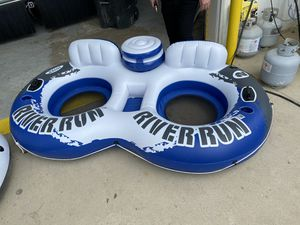 2 river run tubes for Sale in Mesquite, TX
