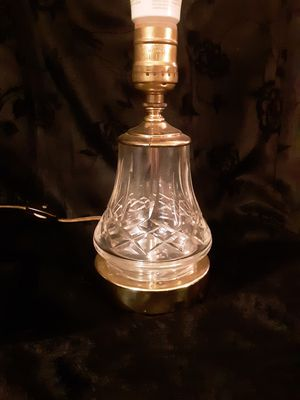 WATERFORD CRYSTAL LAMP for Sale in Tacoma, WA