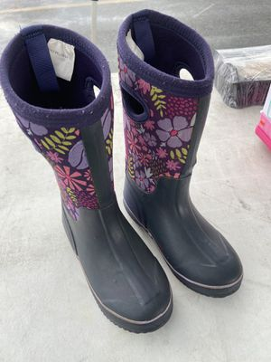 Girls rain boots size 1 for Sale in San Diego, CA