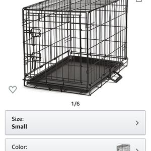 ProSelect Easy Dog Crates for Dogs and Pets - Black Small for Sale in Yucaipa, CA