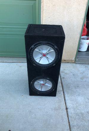2 12 inch cvr kickers for Sale in Hesperia, CA