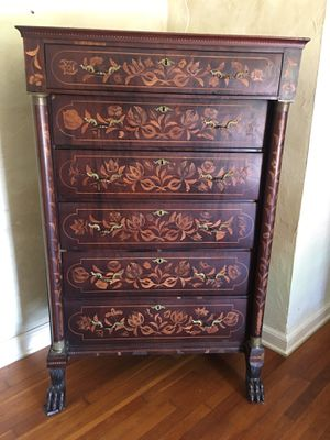 Antique chippendale tall boy dresser for Sale in Miami Beach, FL
