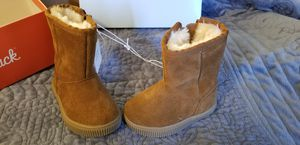 Toddler Girls Kya Genuine Suede Fashion Boots size 4 for Sale in Rancho Cordova, CA