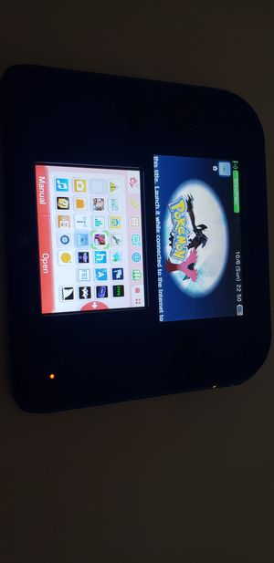 Hacked 2ds with games for Sale in Venus, TX